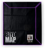 Skydd för tavlor - Biyomap 210x210cm Purple