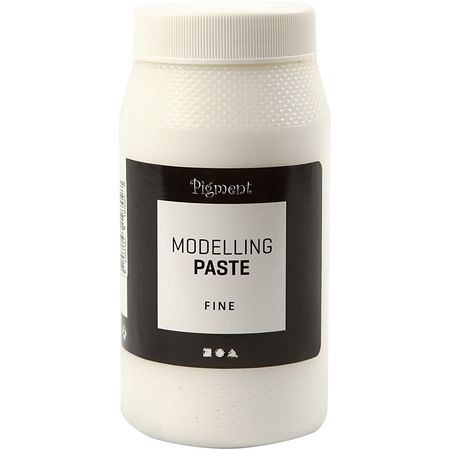 Akrylmedium Pigment Modellpasta Fin 500ml