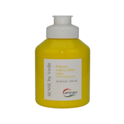 SENSE by Veda akrylfärg 500 ml - Primary Yellow Shine # 006
