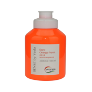 SENSE by Veda akrylfärg 500 ml - Dare Orange Neon # 614
