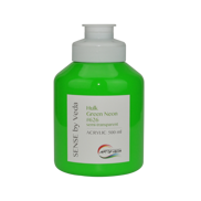 SENSE by Veda akrylfärg 500 ml - Hulk Green Neon # 626