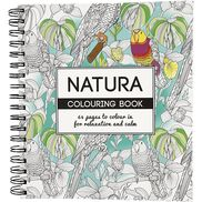 Målarbok Natura
