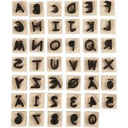 Stämpel av skum - bokstäver & siffror